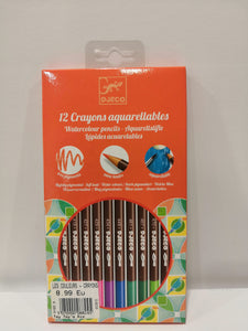 Crayons aquarellables - Djeco