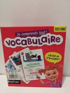 Vocabulaire - Je comprends tout