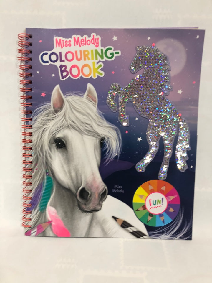 Miss Melody - Colouring Book