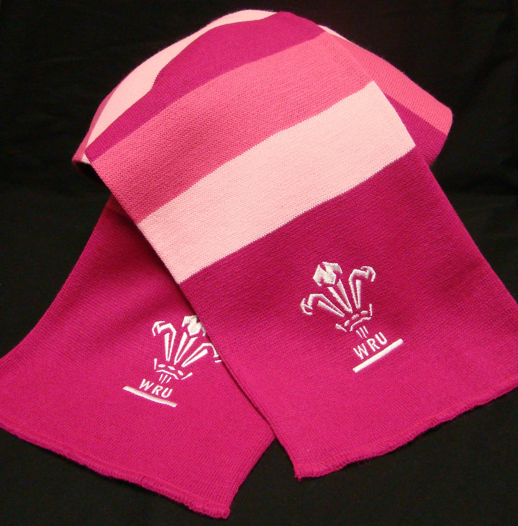 Scarf Wales Pink Striped