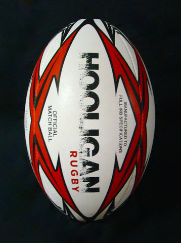 Hooligan Rugby Match Ball