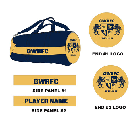 GWRFC - Custom Kit Bag