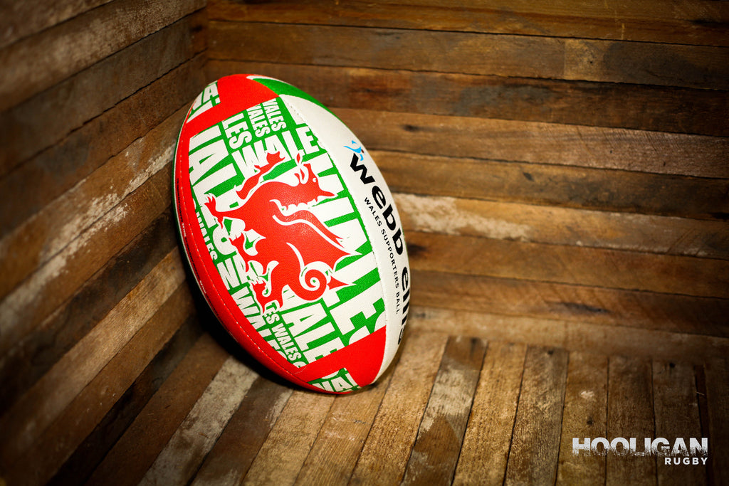 Rugby Ball Wales Supporter