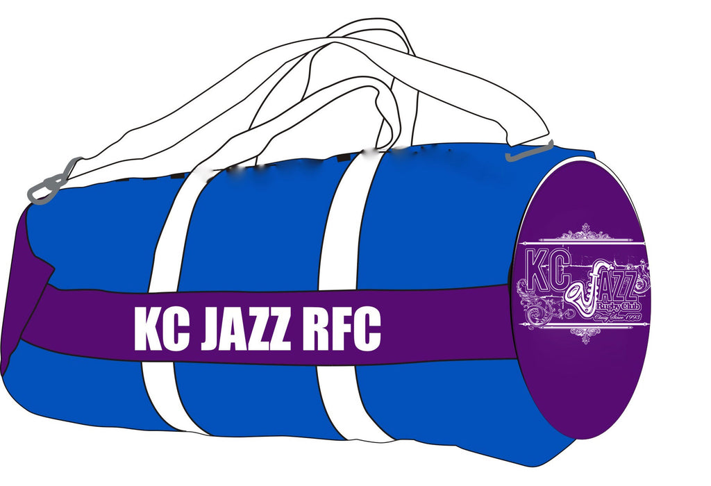 KC Jazz Custom Bag with Player Name