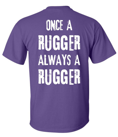 T-Shirt Hooligan Rugby Once A Rugger