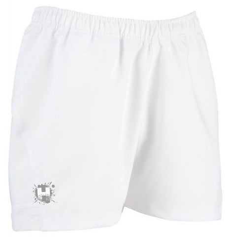 HOOLIGAN PRO RUGBY SHORTS - WHITE