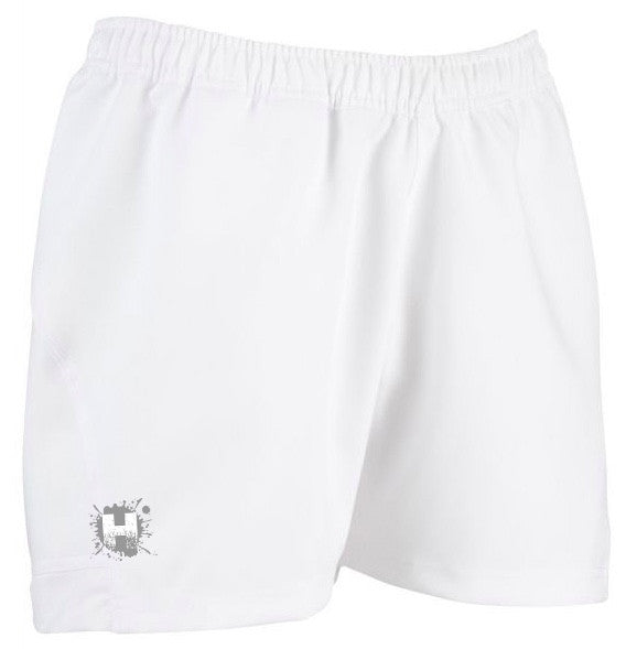 HOOLIGAN ELITE RUGBY SHORTS - WHITE