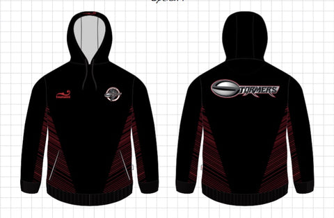 Little Rock Stormers Custom Tsunami Hoodie