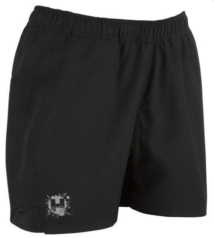 HOOLIGAN ELITE RUGBY SHORTS - BLACK
