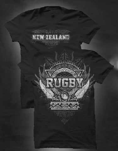 New Zealand T-Shirt Hooligan Rugby