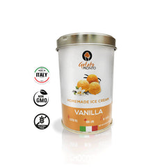 Gelato Pronto Vanilla Madagascar - Instant Gelato & Ice Cream Base - 8.29 oz can