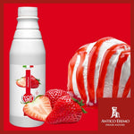 Strawberry Topping Syrup - 6 bottles x 2.2 lbs - Imported from Italy