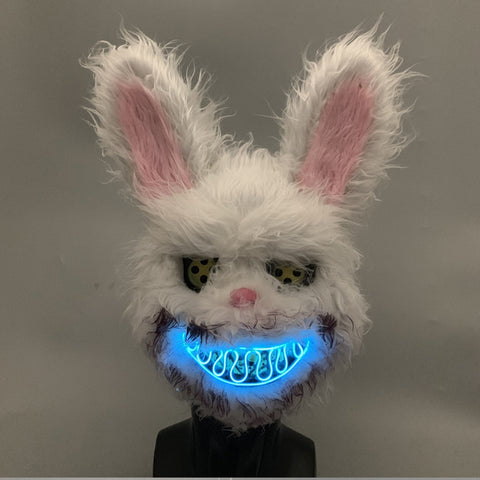 LED Mask Bloody Killer Rabbit