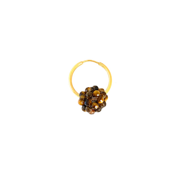tigers eye hoop