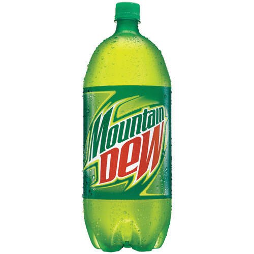 Mountain Dew Soft Drink 2L