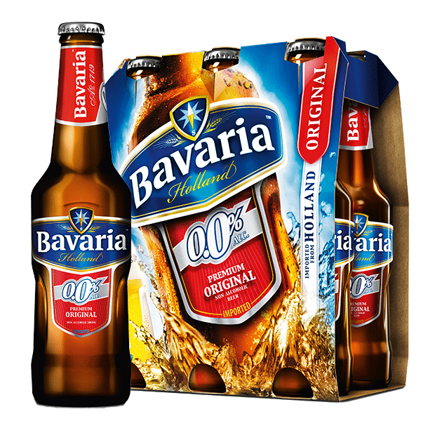 Bavaria 0.0% Non-Alcoholic Original Malt 6x330mL