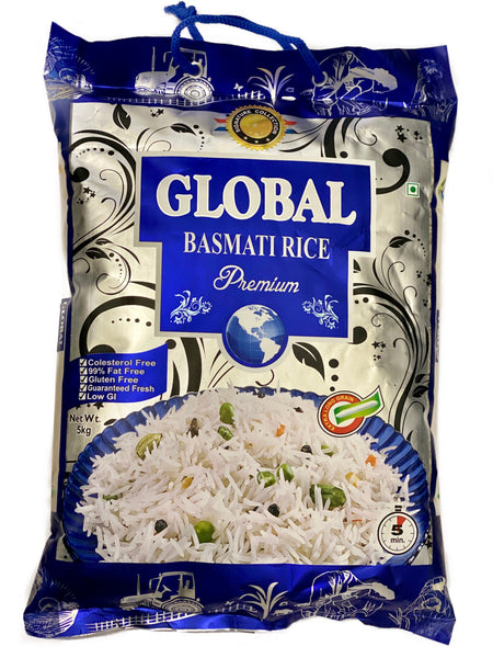 Global Premium Basmati Rice 5kg