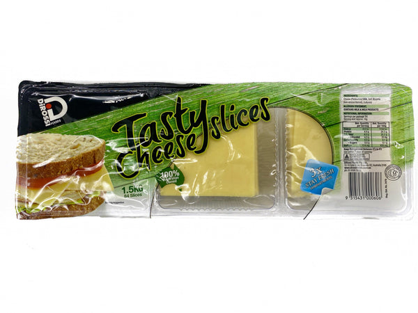 Di Rossi Tasty Cheese slices 1.5kg