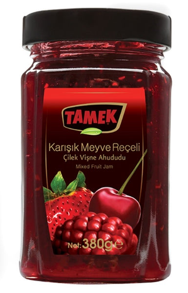 Tamek Mix Fruit Jam 380g