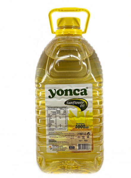 Yonca Sunflower Oil 4lt