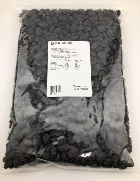 Marmara Black Raisins
