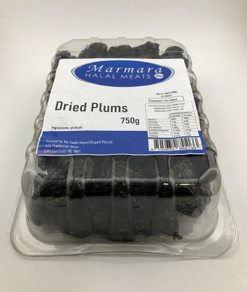 Marmara Dried Plums 750g