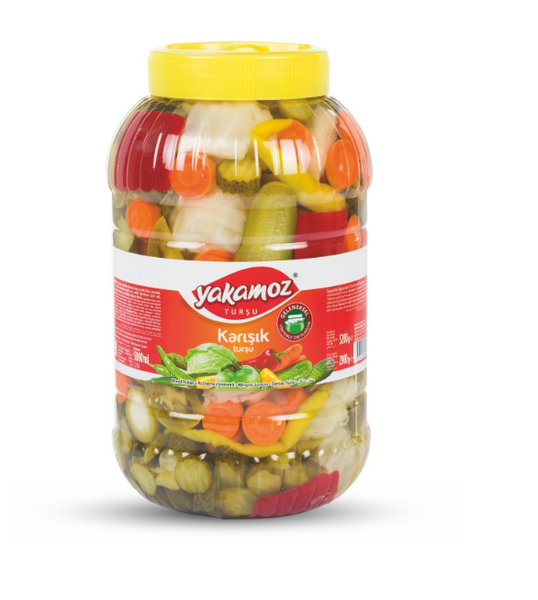 Yakamoz Mixed Pickles 5L