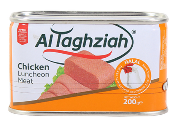 Al Taghziah Chicken Luncheon Meat