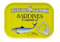 Marco Polo Sardines In Vegetable Oil 105g