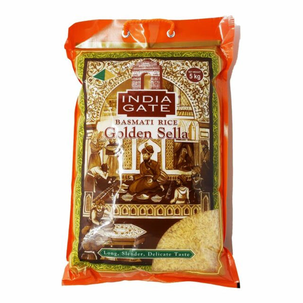 India Gate Golden Sella Basmati Rice 5kg
