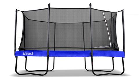 In Stock Now! - NEW 2020 Re-Design Beast K9 10x17 Performance Rectangle Trampoline | Free Ladder