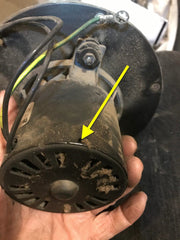 Lubrication Hole on Exhaust Blower