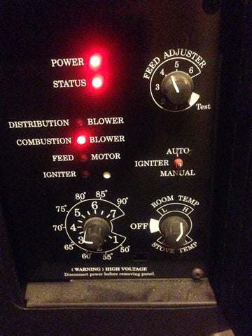pellet stove control panels how do they fail and why they need breckwell pellet stove control panels have been digital for many years the earlier panels were made to turn the 4 rpm auger motors and 4 rpm augers and