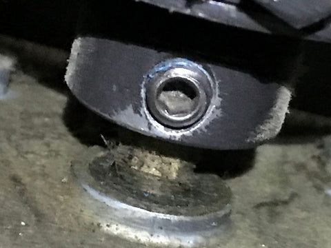 Set Screw after wire wheeling