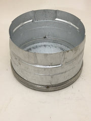 "DuraVent 4PVP-CO Stainless Steel 4"" Inner Diameter - PelletVent Pro Type L Chimney Pipe - Double Wall - Tee Cap"
