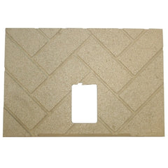 Breckwell SP6000 MF Heartland & Golden Eagle Lincoln Firebrick - 1 piece- Part # 891705 Replaces A-M-BRICKCORN