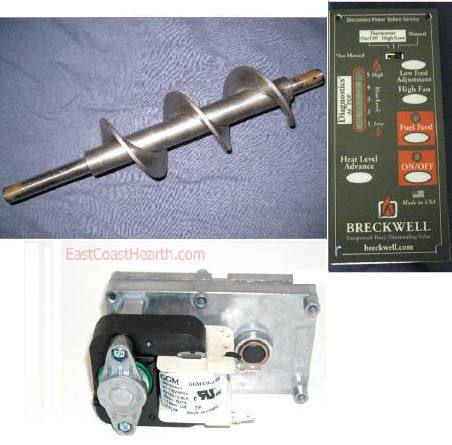 Control Board Auger Motor Breckwell Value Update Kit Cb C E