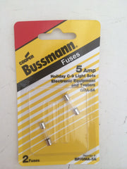 Control Panel Mini Glass Fuse: Pellet Stove- 5 Amp Bussmann BP-GMA-5A (2 pack)