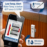Wireless Remote  Temp. & Humidity Monitor with Wet Temp. Probe La Crosse Alerts™ Full Set  D111.102.E1.WGB