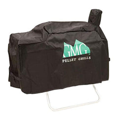 Black Davy Crockett Durable Weather Resistant Grill Cover from Green Mountain Grills