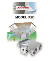 Air XCHANGER™ Reversible Workshop / Basement Fans - Model X2D