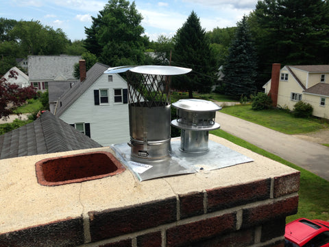 Pellet Stove Insert Fireplace Liner Package W Fresh Air
