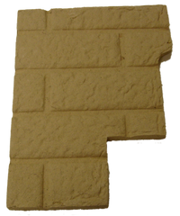 Left Fire Brick Panel Magnum RP2001 T40 Essex Leg