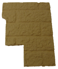 Right Fire Brick Panel Magnum RP2002 T40 Essex Leg