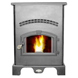 US Stove 5500M 1,750 sq. ft. Pellet Stove with large 120lb hopper