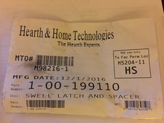 Harman & Heatilator Eco-Choice Hopper Swell Latch & Spacer-1-00-199110
