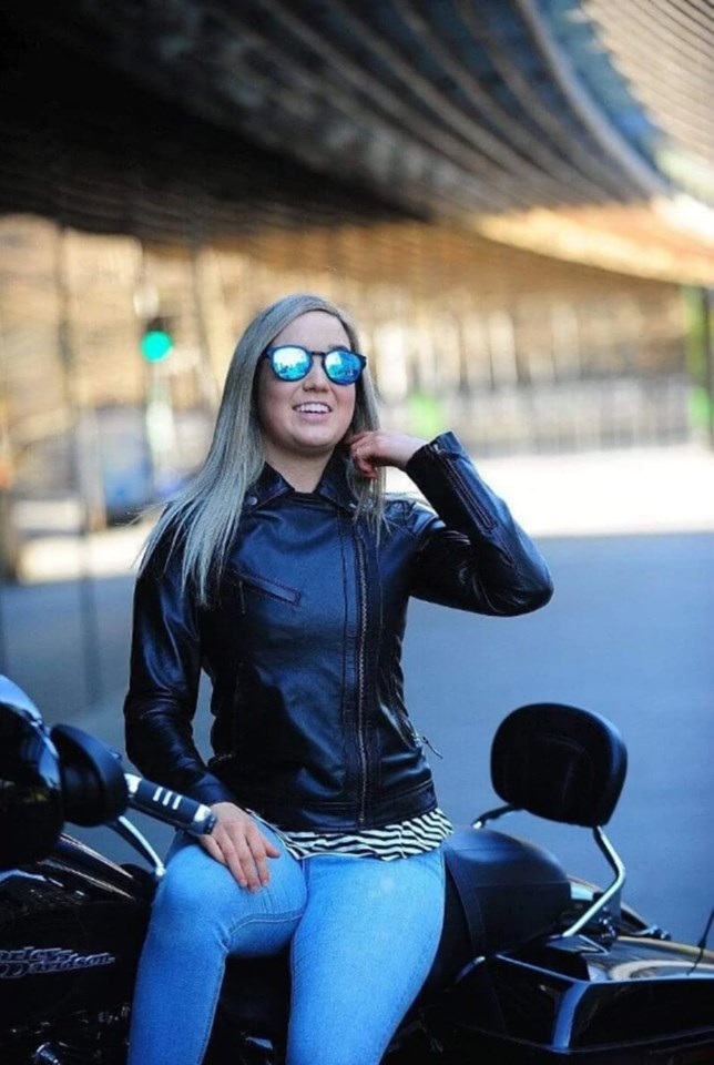 Black Ladies Leather Jacket