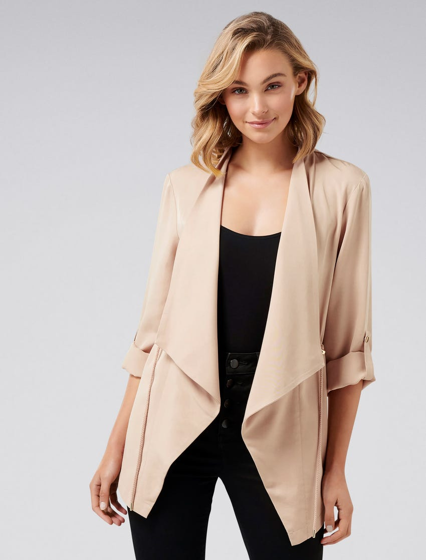 Carole Waterfall Jacket