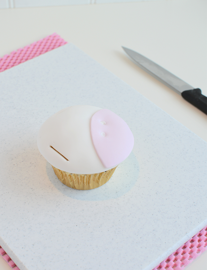 finition cupcake licorne