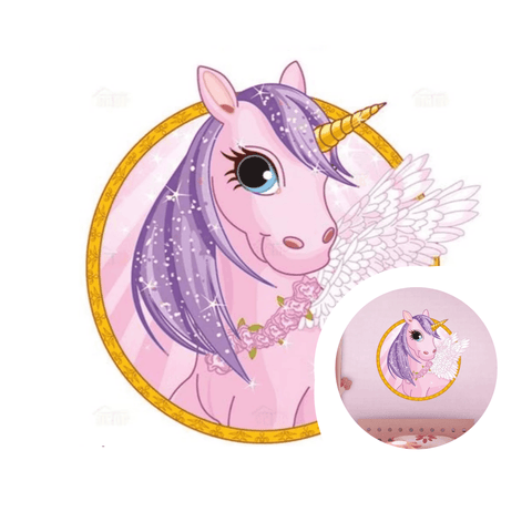 stickers licorne  dessin animée